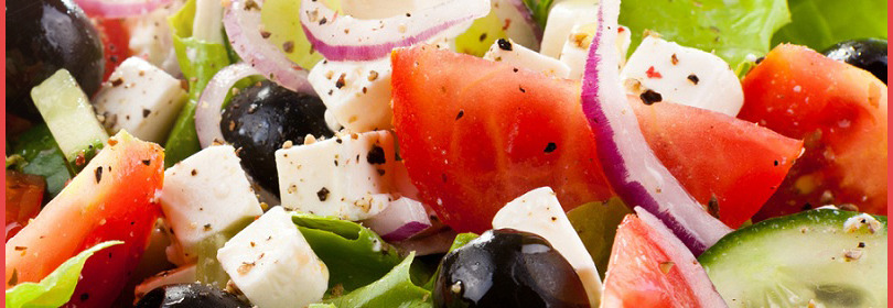 Greek Salad is part of a healthy diet