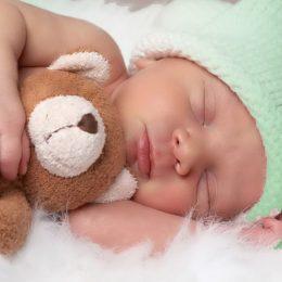 sleeping baby blanket
