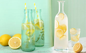 Lemon Juice and Water